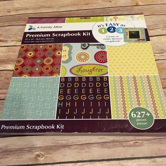 "ATD Other - ATD 12x12 Scrapbook Kit ""Family Affair"""